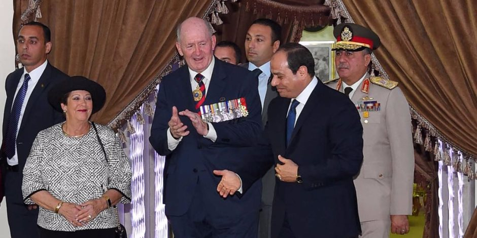 السيسي: مدينة العلمين تدفعنا لتجديد العهد للحفاظ على السلام
