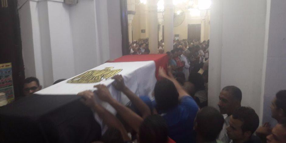 """الفيوم تشيع جثمان شهيدها في عملية """"سيناء 2018"""""""