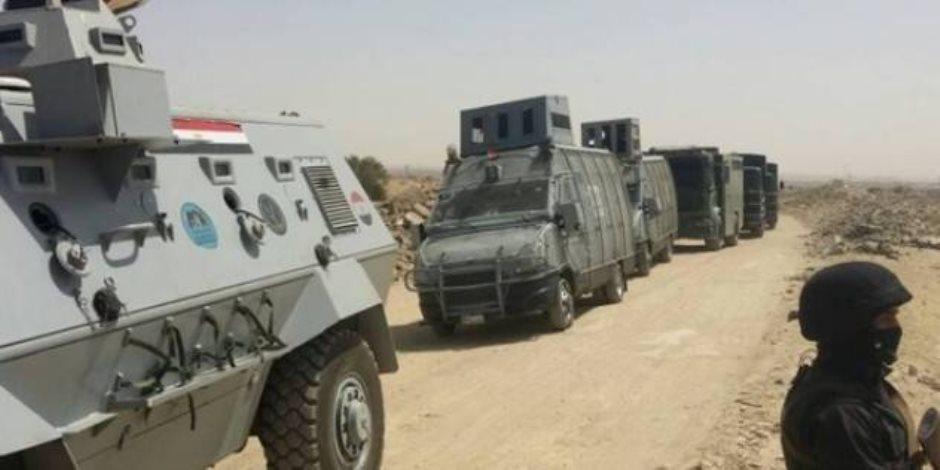 الأمن يحبط تسلل 31 شخصًا إلى ليبيا عن طريق صحراء السلوم