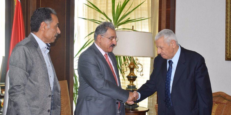 وفد الجامعة الأهلية بالبحرين يختتم زيارته للمؤسسات الإعلامية في مصر