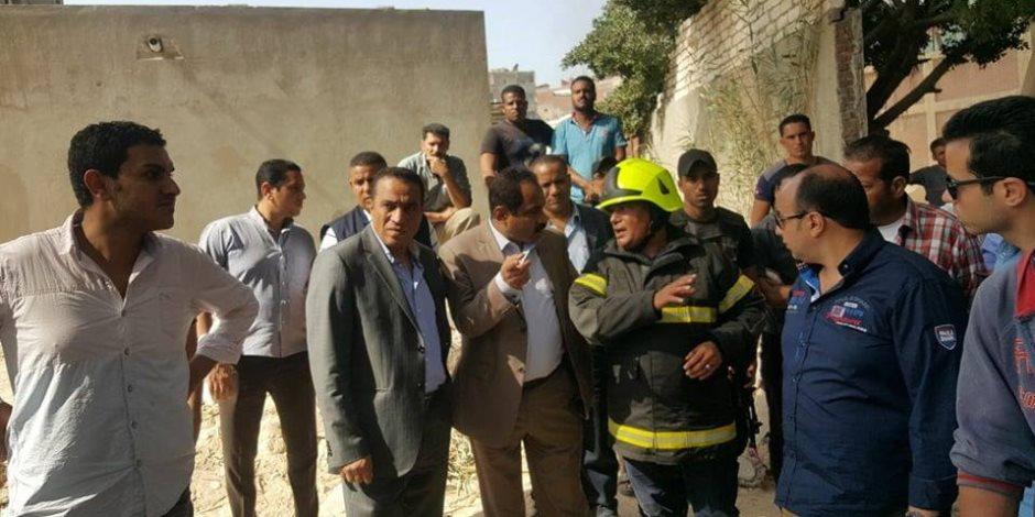 مدير أمن الإسكندرية: سيطرنا على حريق مصنع الكيماويات بالعجمي (صور)