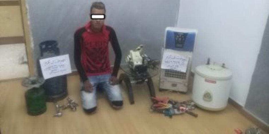 أمن القاهرة يضبط عاطلين تخصصا فى سرقة الشقق السكنية بمدينة بدر