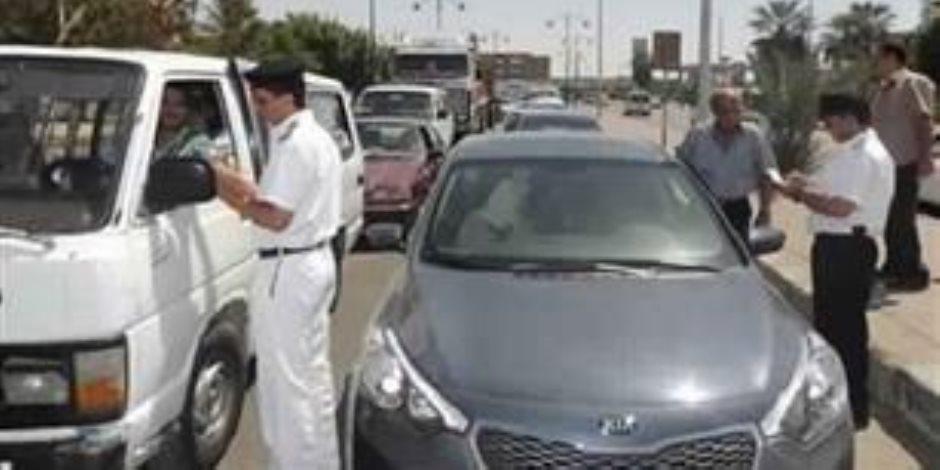 ضبط 23 سائق يتعاطى المواد المخدرة أثناء القيادة بالطرق السريعة