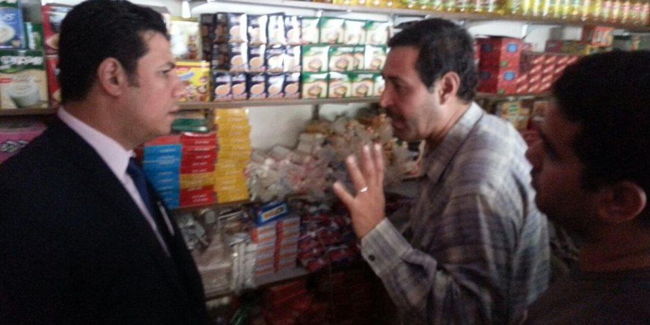 الرقابة الإدارية بالإسكندرية تحرر مخالفة لتاجر لعدم الإعلان عن قائمة الأسعار   ( صور )