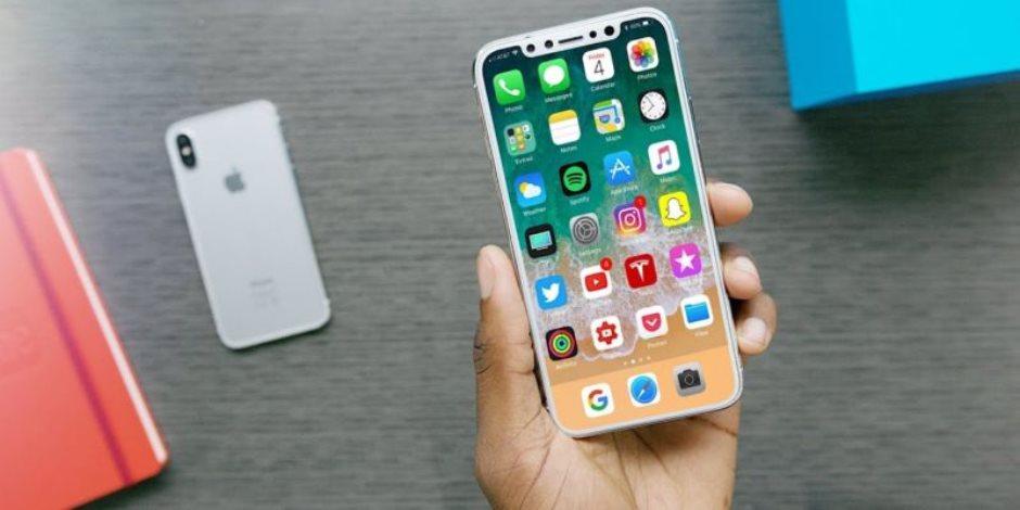 خطوات لالتقاط الـ screenshot على هاتف  iPhone X
