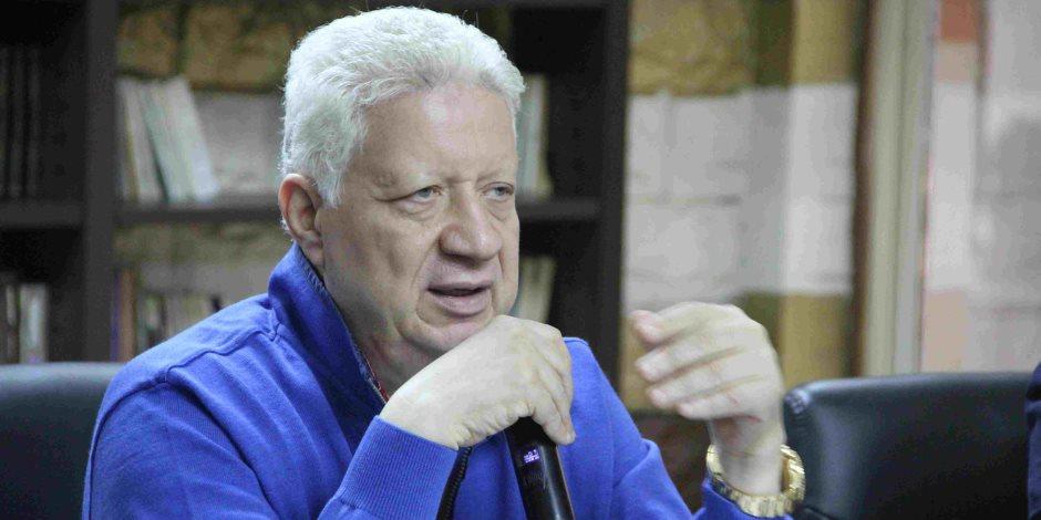 مرتضى منصور عن مستحقات «جروس»: ياخدها من محكمة الأسرة