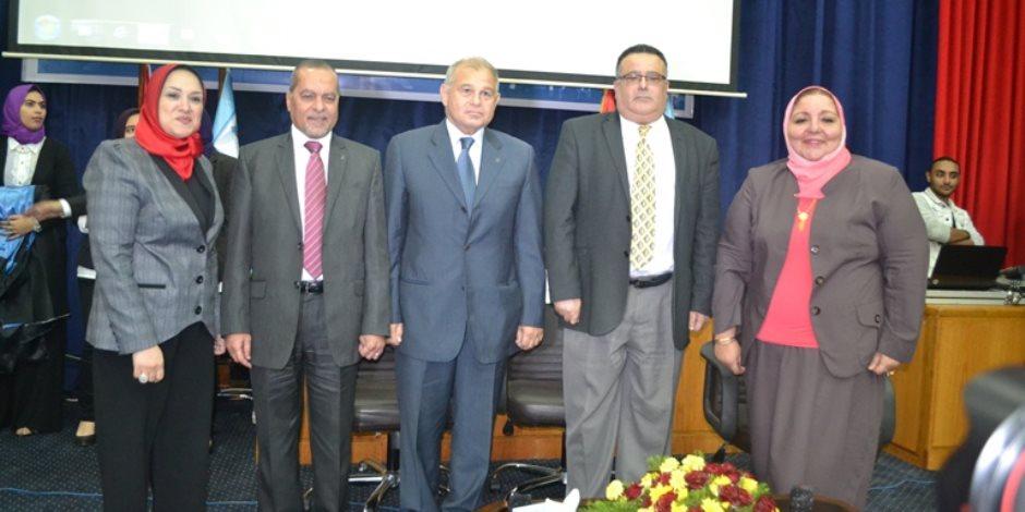 تخرج الدفعة الـ 25 من طالبات كلية رياض الأطفال جامعة الإسكندرية (صور)