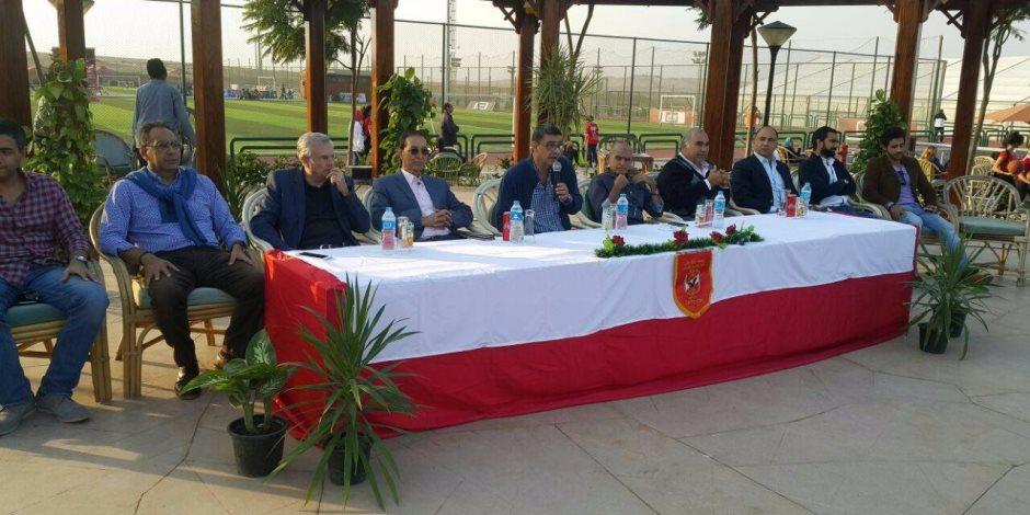هاني سري الدين يعلق علي حق أعضاء زايد في التصويت بانتخابات الأهلي (صور)