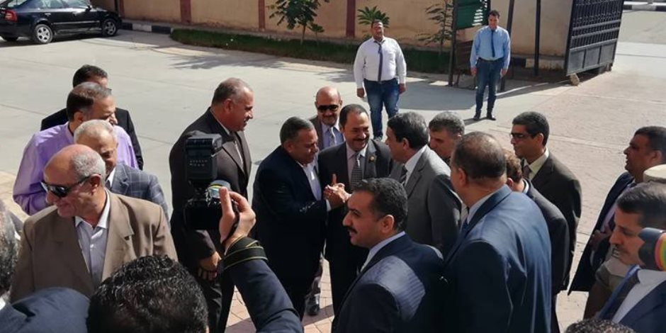 تكريم رئيس العاصمة الإدارية الجديدة بمحافظة بني سويف