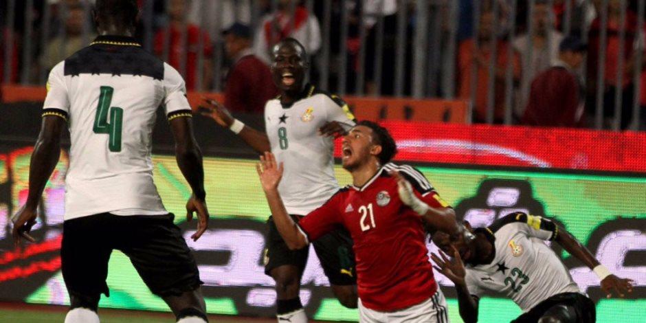 60 دقيقة.. شيكابالا صاحب الخطورة الوحيدة مباراة مصر وغانا (فيديو)