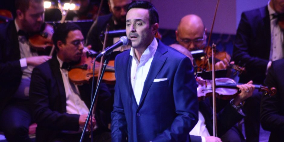 صابر الرباعي يشعل حفل ختام مهرجان الموسيقى العربية (صور)