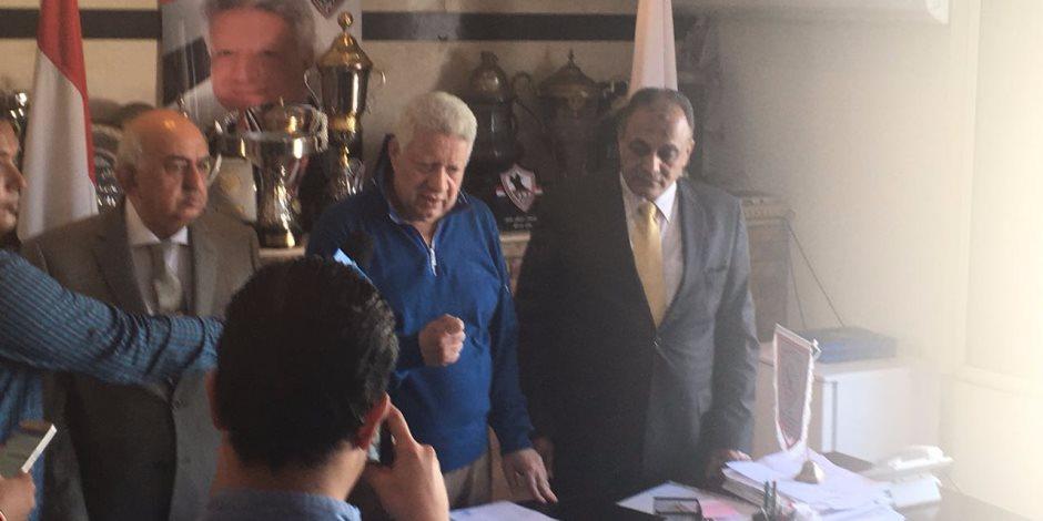 مرتضى منصور: سليمان طلب استبعادي من الانتخابات بسبب عضويتي بمجلس النواب