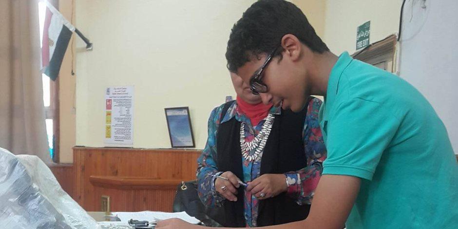 الطلبة المبتكرون من جامعة الطفل في لقاء بعلوم الإسكندرية (صور)