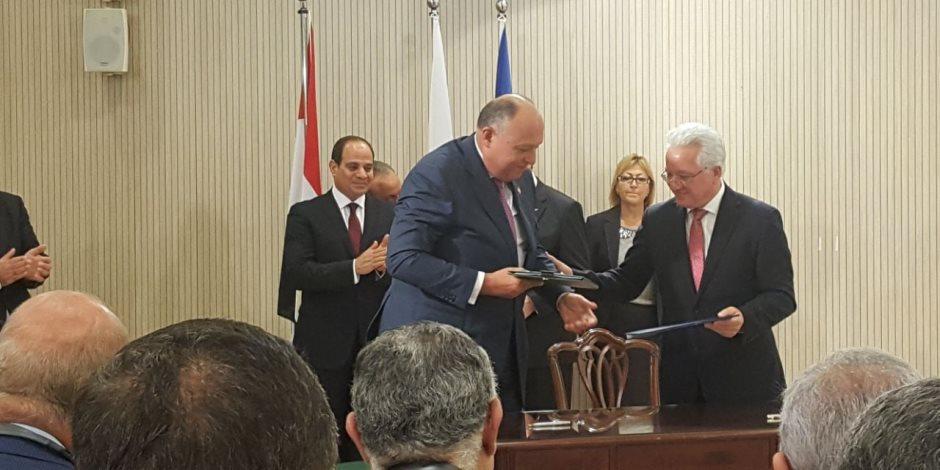 الرئيس القبرصي: مصر شريك مهم واستراتيجي للاتحاد