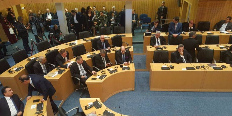 الرئيس السيسي في البرلمان القبرصي