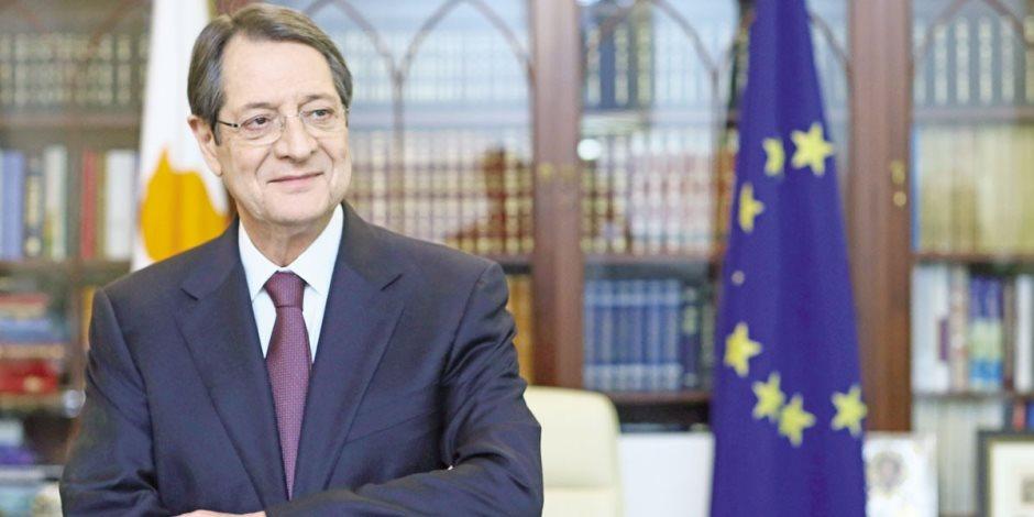 رئيس قبرص يتوجه إلى لندن للمشاركة فى اجتماع رؤساء حكومات دول الكومنولث