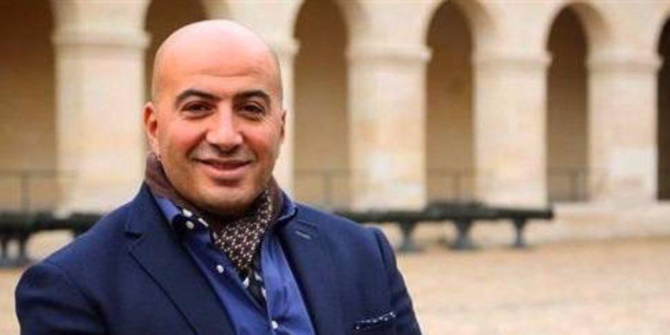 مجدي الهواري ينشر صورة له مع غادة عادل في مهرجان القاهرة السينمائي