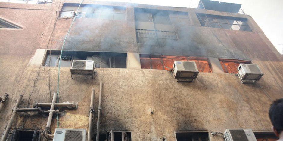 إخماد حريق شقة سكنية في حلوان وإصابة شخص