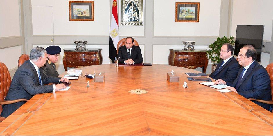 السيسي يعقد اجتماعا عاجلا باللجنة الأمنية لبحث تداعيات حادث العريش