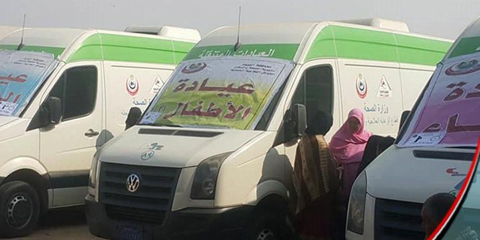 2914 مواطنا من ذوى الاحتياجات تلقوا خدمات طبية بالمجان خلال أسبوع بـ 15 مايو