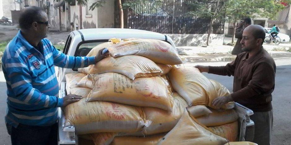 ضبط مفتش أغذية بصحة سوهاج باع 30 طن أرز فاسدة لمورد أغذية