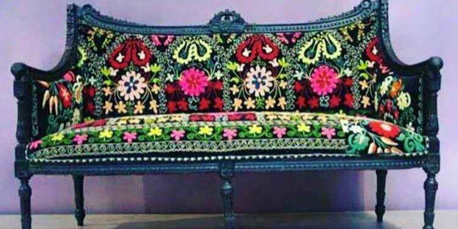 """الديكور """" البوهيمي """" لمسات أنيقة بالألوان الطبيعية تضفي على المنزل فخامة"""