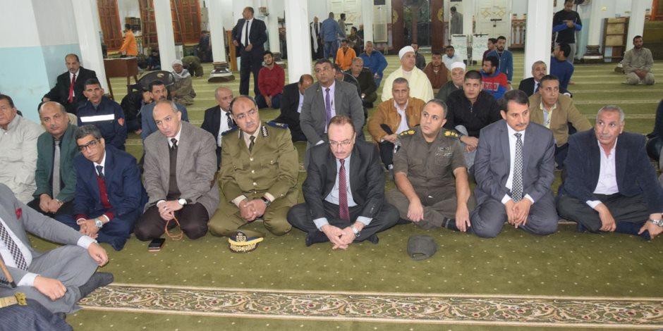 محافظ بني سويف ومدير الأمن يشهدان الاحتفال بذكرى المولد النبوي (صور)