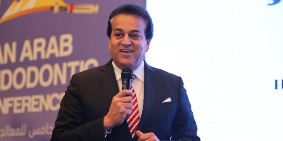 خالد عبد الغفار: المؤتمر الدولي لعلاج جذور الأسنان بالقاهرة إضافة لمجال البحث العلمي