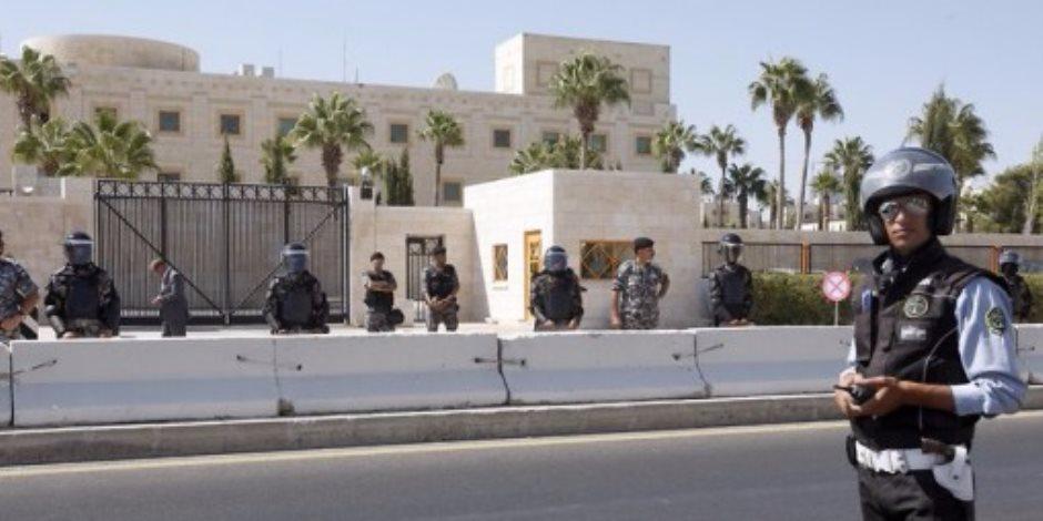 تشديد إجراءت الأمن خارج السفارة الأمريكية في الأردن تخوفا من الفلسطينين