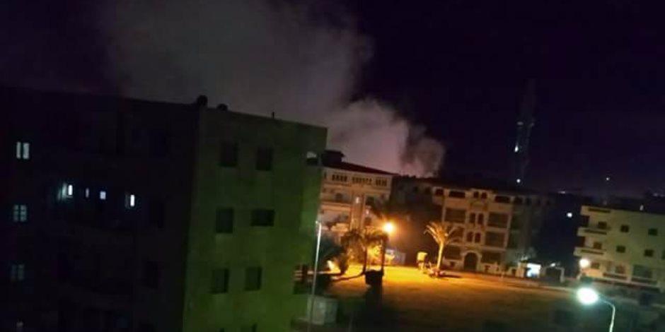 السيطرة على حريق داخل شقة سكنية بالحوامدية