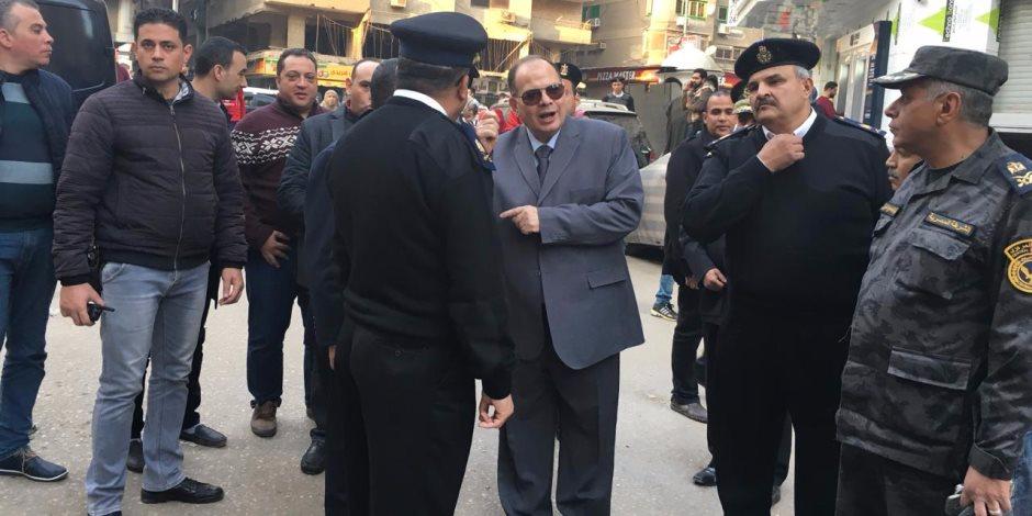 مدير أمن الجيزة: مجريات العملية الانتخابية تسير بشكل طبيعى