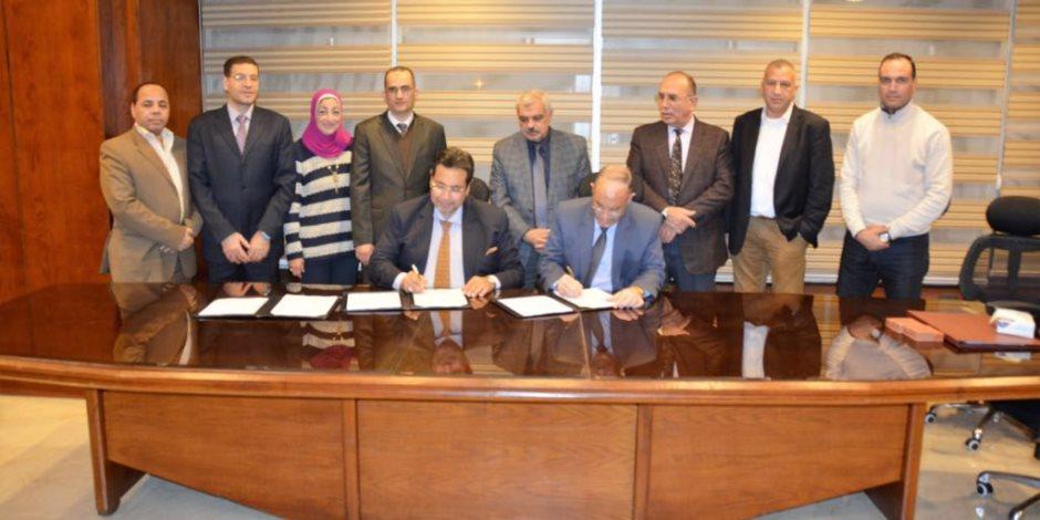 """وبدأ الحلم ..توقيع عقد """"استشارية"""" تنفيذ القطار المكهرب بـ 7.3 مليون يورو (صور)"""