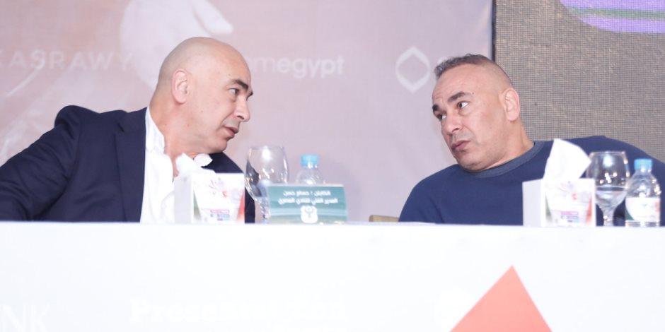 زي القرع يمدوا لبره.. لماذا قصف إبراهيم حسن جبهة اتحاد الكرة بسبب توأمه؟