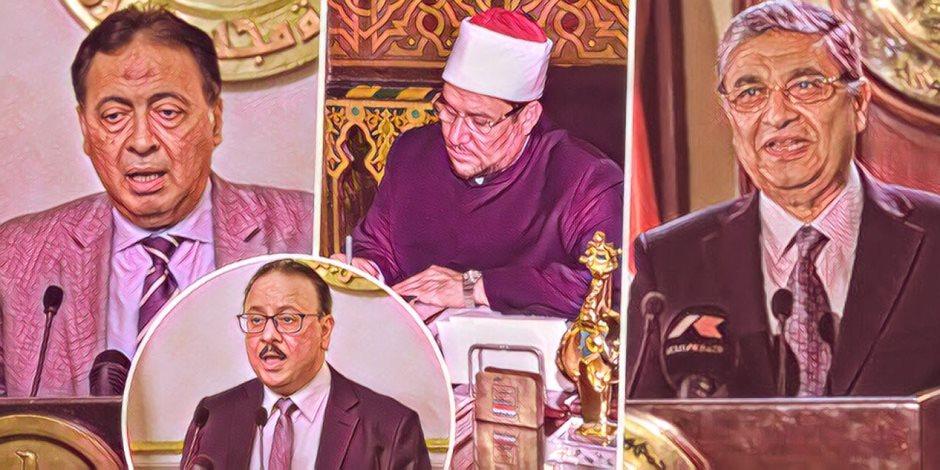 """الصحف المصرية تشيد باستطلاع """"صوت الأمة"""" بشأن رأي النواب في أداء الحكومة"""