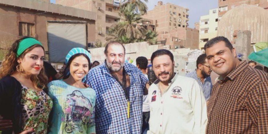 """عمرو عبد الجليل وسامح عبد العزيز في المونتاج من أجل """"سوق الجمعة"""""""