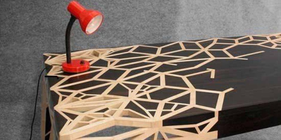 أحدث أبداعات تصاميم الطاولات الخشبية لتحديث منزلك على موضة 2018