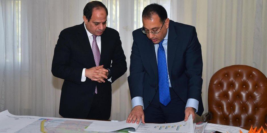 وزارة الإسكان: نبحث عمل خزانات جوفية لتجميع مياه الأمطار بالقاهرة الجديدة