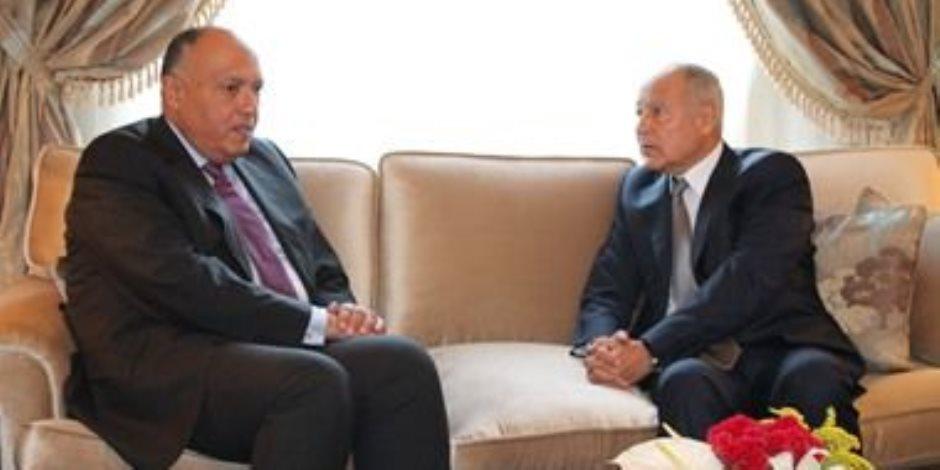 وزير الخارجية والأمين العام للجامعة العربية يتوجهان للأردن للمشاركة فى الاجتماعات السداسية بشأن القدس