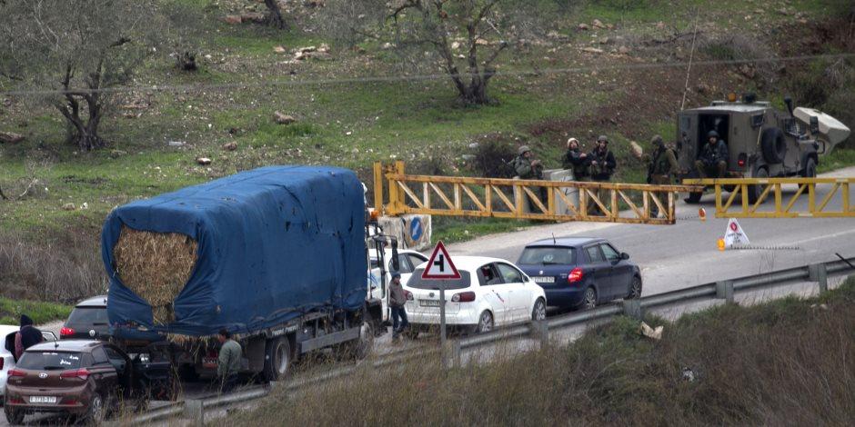 بعد مقتل رازئيل شيبح.. قوات الاحتلال الإسرائيلية تحاصر نابلس (صور)