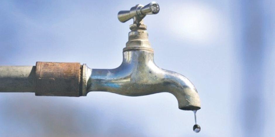 انقطاع المياه قطع المياه عن مدينة شبين القناطر لمدة 9 ساعات