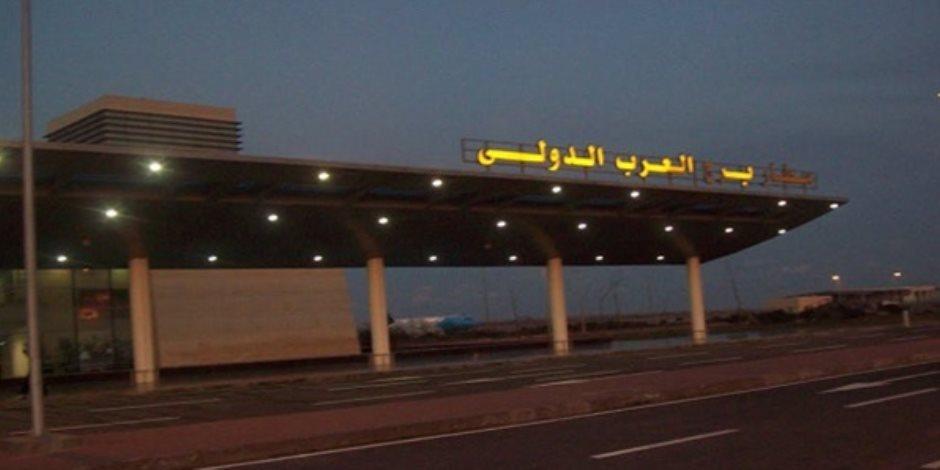 ضبط أجزاء من طائرة تجسس في برج العرب