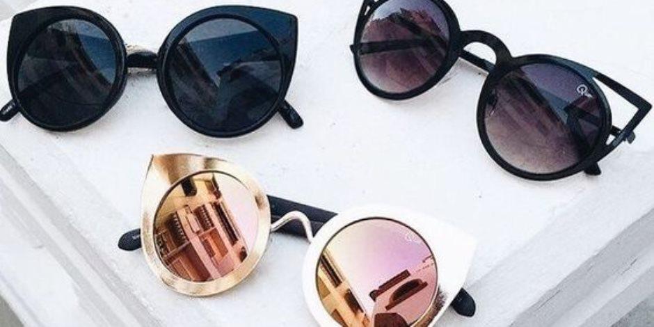 """أحدث صيحات النظارات الشمسية لشتاء 2018   """" المستديرة الملونة"""""""