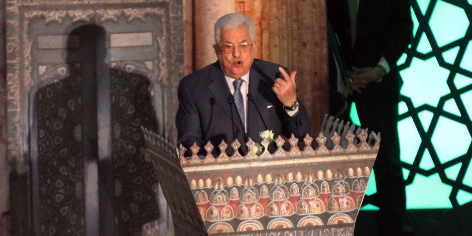 الرئيس الفلسطيني: مقبلون على تحديات صعبة بحاجة لدعم سياسي ومالي عربي