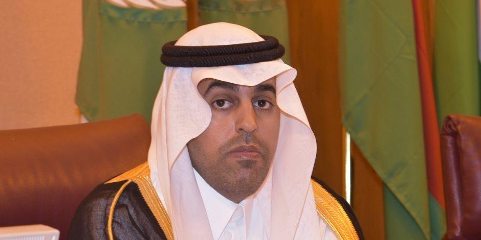 البرلمان العربى يدعو فرنسا للاعتراف بدولة فلسطين وعاصمتها القدس