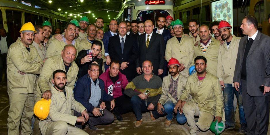 الترام كافيه.. ماذا فعل 3 محافظين للإسكندرية في المشروع؟ ( صور )
