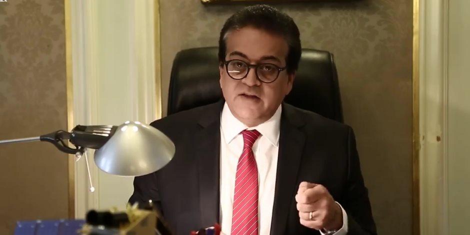 أنت تسأل والوزير يجيب.. عبد الغفار  يكشف موقف طلاب سيناء (فيديو)