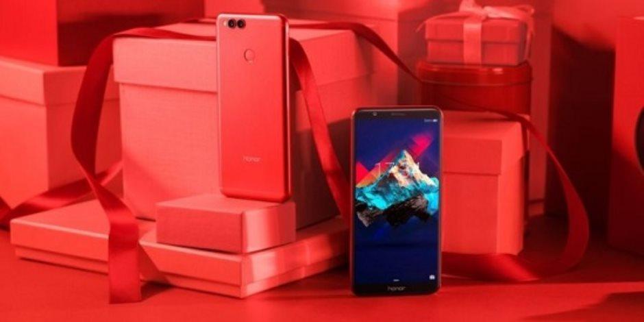 احتفالا بعيد الحب .. هواوي تطلق نسخة جديدة من الهاتف الذكى Honor 7X
