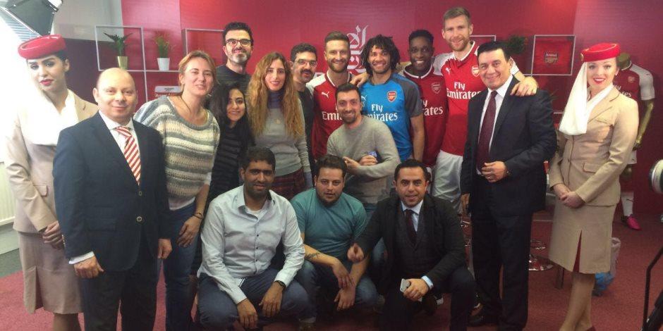 ثلاثي آرسنال ضيوف on sport.. وجوه عالمية على الشاشات المصرية (فيديو)