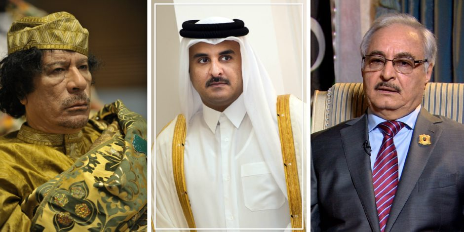 تفاصيل مؤامرة حاكم تنظيم الحمدين لاغتيال القذافي ومحاولة قتل حفتر