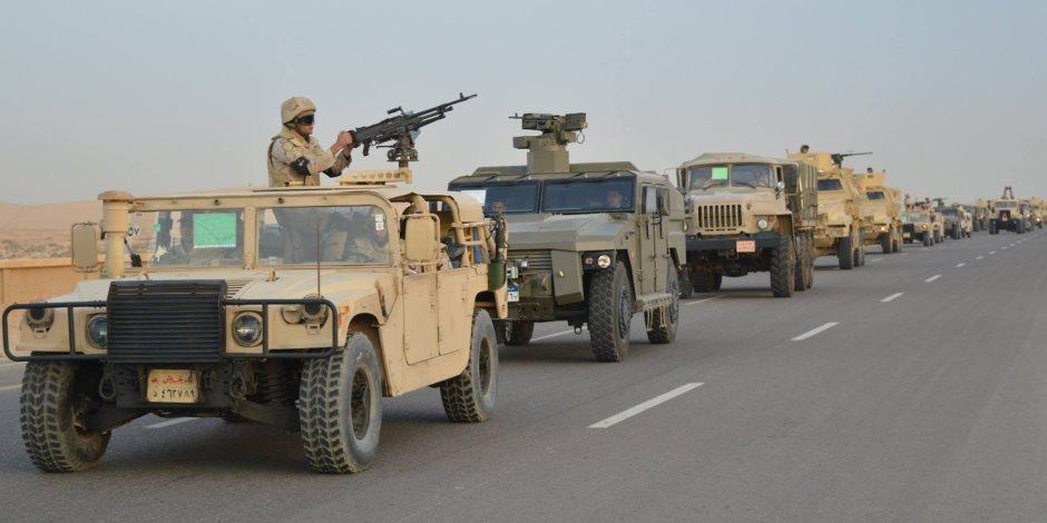 """موقع وزارة الدفاع ينشر أغنية """"تحية من الجيش المصرى"""" للشرطة فى عيدها"""